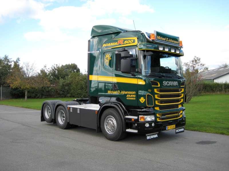 AeroSlimLED® lyskasse - på Scania lastbil