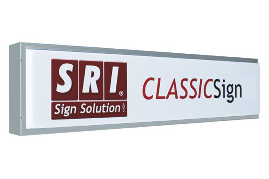 ClassicSignLED® - klassisk SRI lysskilt til lastvogne