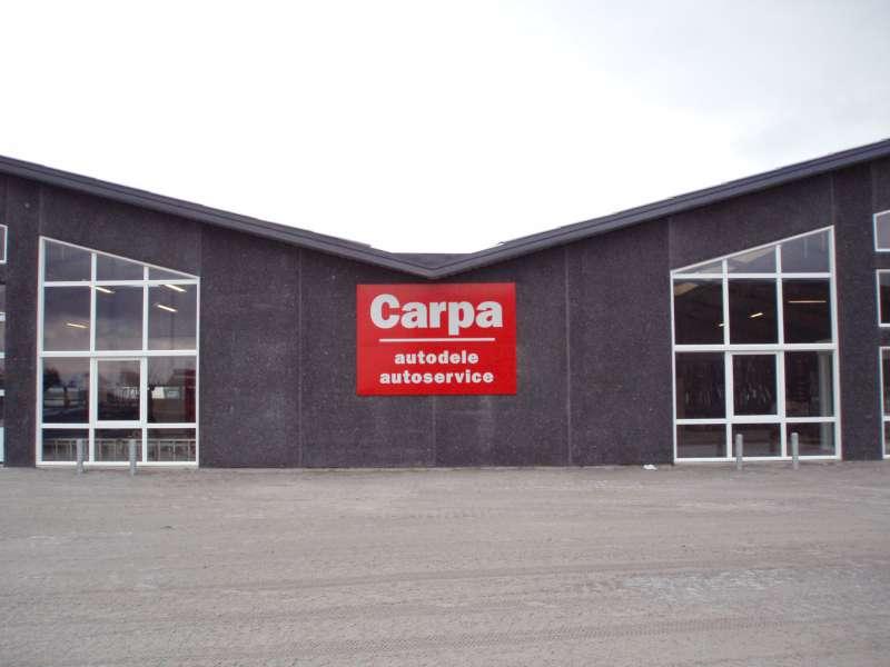 Skiltepanel til facade - Carpa