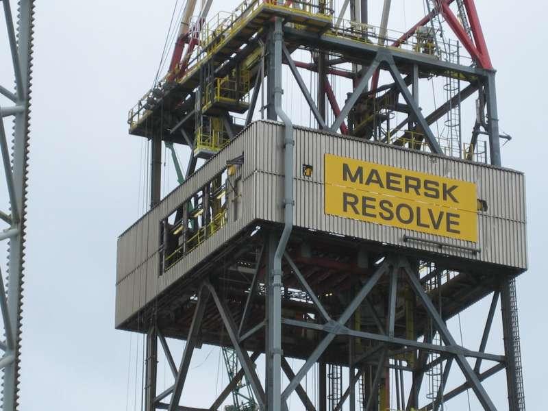 Store aluminiumskilte - til Mærsk