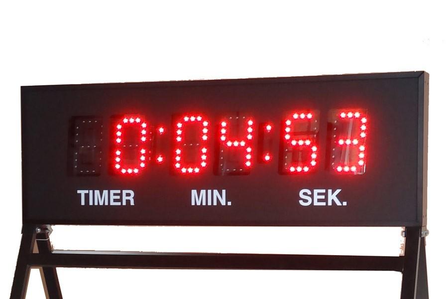 Resultattavle Model MarathonOne Stopur/Tidtagning - til atletik, marathon mm.