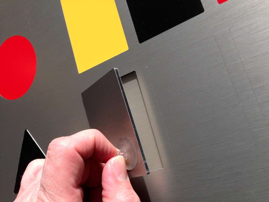Prestige Princip i børstet RF stål look (aluminium)