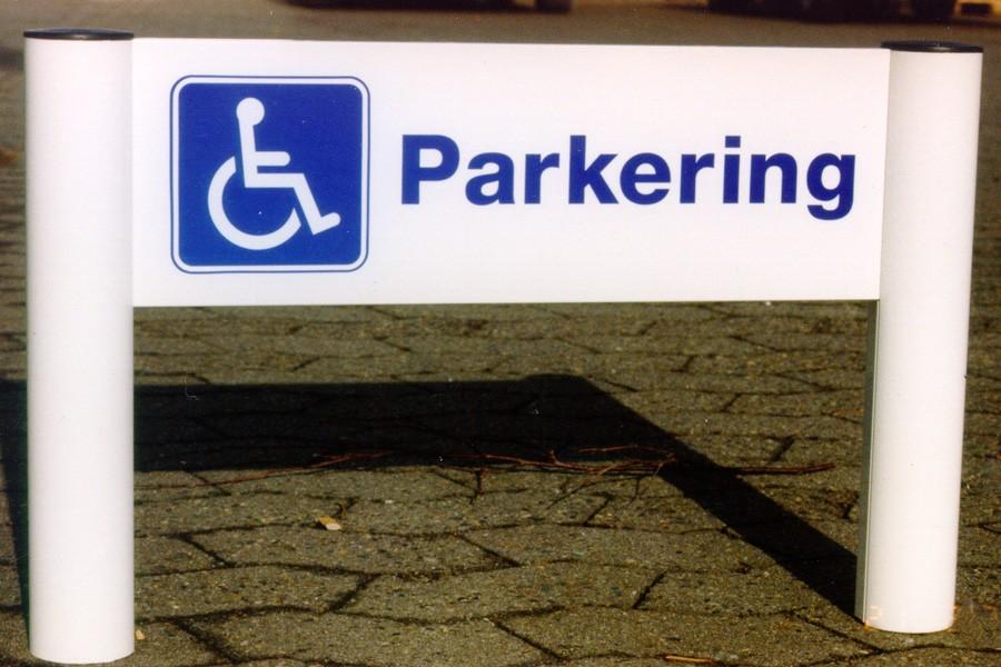 handicap ledsager kort at der