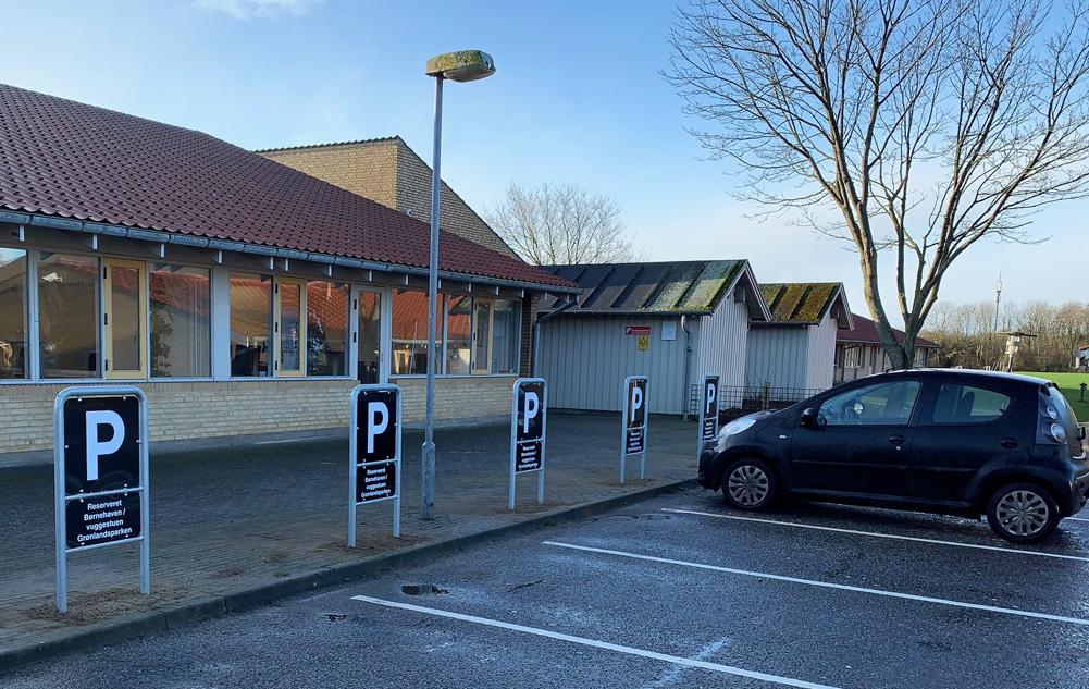 Parkeringsskilte - reserverede pladser