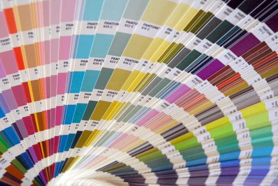 Bredt udvalg af farver