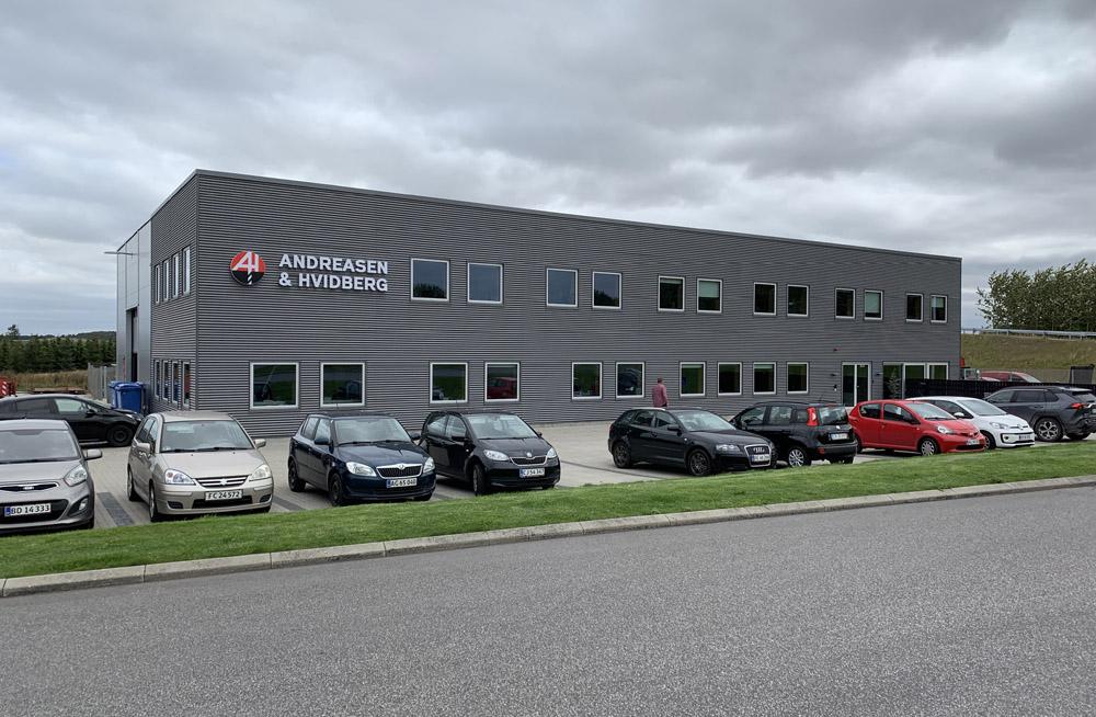 Facadebogstaver og 3D logo - Andreasen og Hvidberg