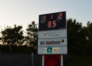 Scoreboard - Måltavle - Resultattavle